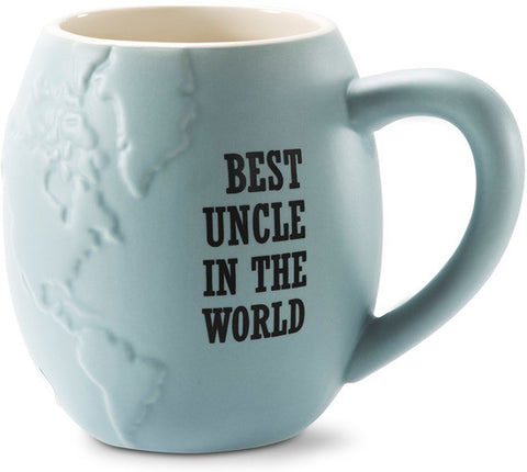 Best Uncle in the World Coffee & Tea Mug by Global Love - Beloved Gift Shop