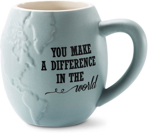 You Make a Difference Coffee & Tea Mug by Global Love - Beloved Gift Shop