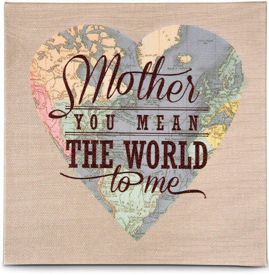 Mother Globe Plaque by Global Love - Beloved Gift Shop