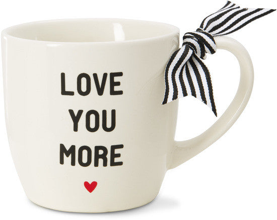 Love You More - Coffee & Tea Mug by The Milestone Collection - Beloved Gift Shop