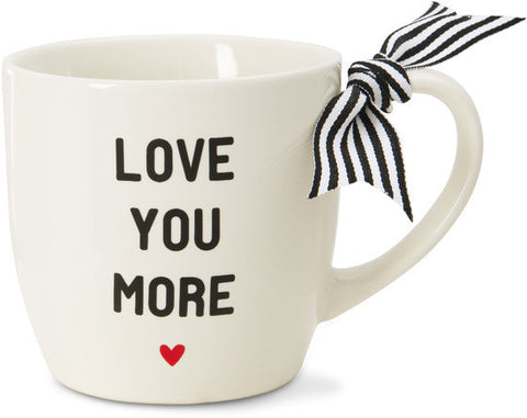 Love You More Mug by The Milestone Collection - Beloved Gift Shop