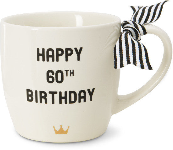 Happy 60th Birthday Mug by The Milestone Collection - Beloved Gift Shop