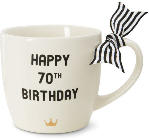 Happy 70th Birthday - Coffee & Tea Mug by The Milestone Collection - Beloved Gift Shop