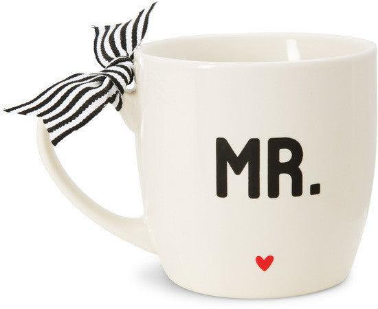 Mr. & Mrs. Mug Set by The Milestone Collection - Beloved Gift Shop