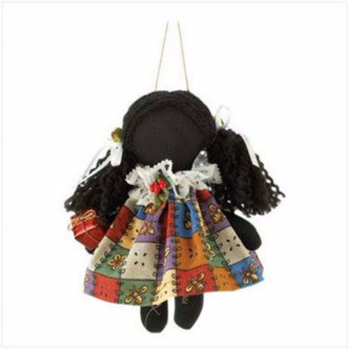 Kerrie Holly Dolly  - Annie Lee Christmas Ornament by Annie Lee - Beloved Gift Shop