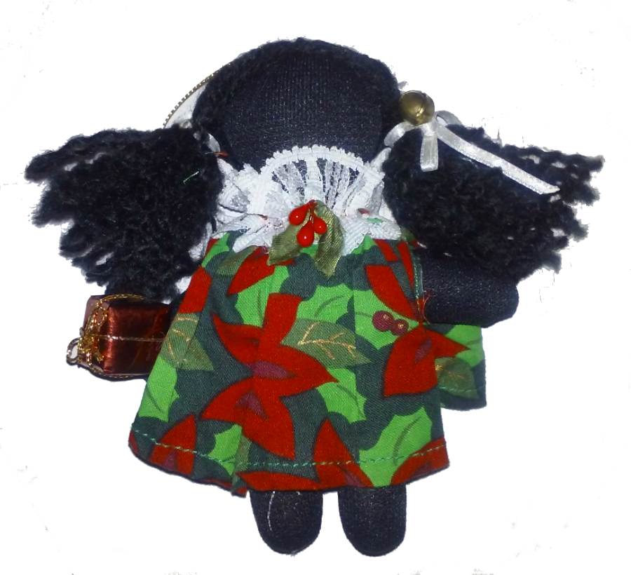 Sherrie Holly Dolly - Annie Lee Christmas Ornament by Annie Lee - Beloved Gift Shop
