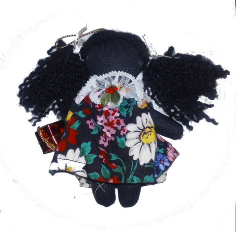 Terrie Holly Dolly - Annie Lee Christmas Ornament by Annie Lee - Beloved Gift Shop