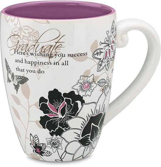 Graduate...Here's wishing you success and happiness in all that you do Mug by Mark My Words - Beloved Gift Shop