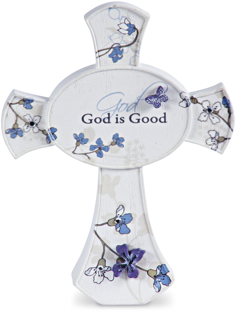 God is Good Self Standing Cross Plaque - Beloved Gift Shop