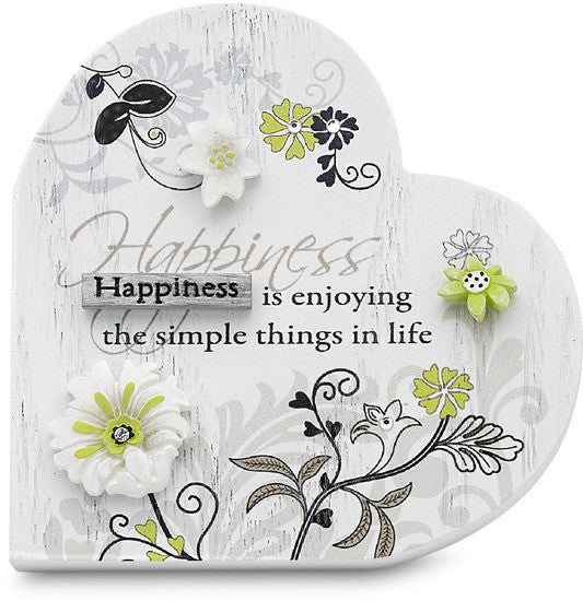 Happiness is enjoying the simple things in life Plaque Plaque - Beloved Gift Shop