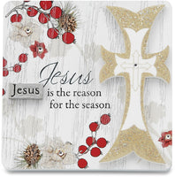 Jesus is the reason for the season Plaque