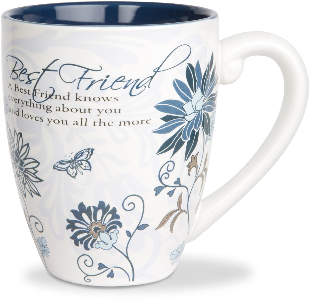 A Best Friend knows everything about you Coffee Tea Beverage Mug Mug - Beloved Gift Shop