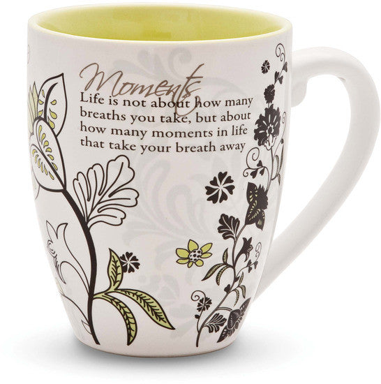 Life is not about how many breaths you take Coffee Tea Beverage Mug Mug - Beloved Gift Shop