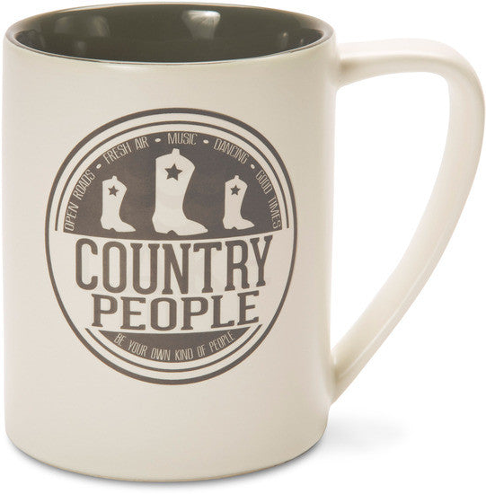 Country People Coffee Tea Beverage Mug Mug - Beloved Gift Shop