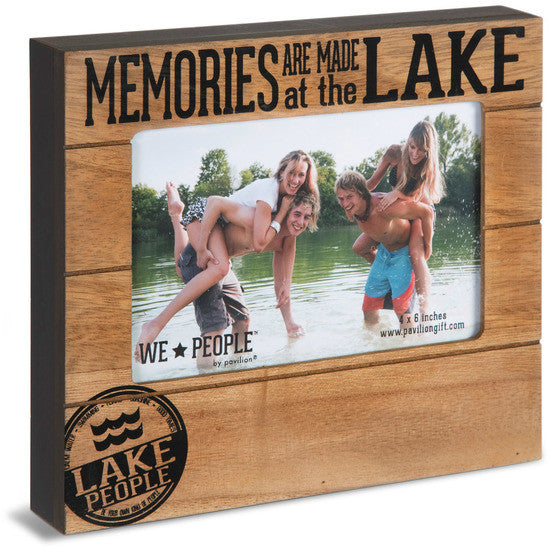 Memories are made at the Lake Picture Frame Picture Frame - Beloved Gift Shop