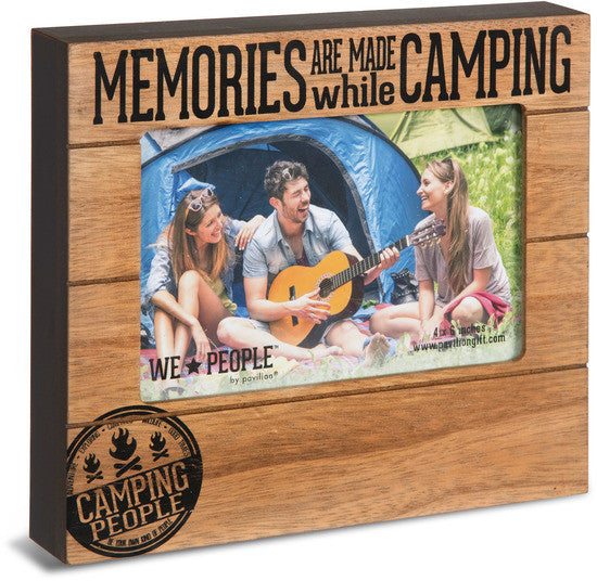 Memories are made while Camping Picture Photo Frame Picture Frame - Beloved Gift Shop