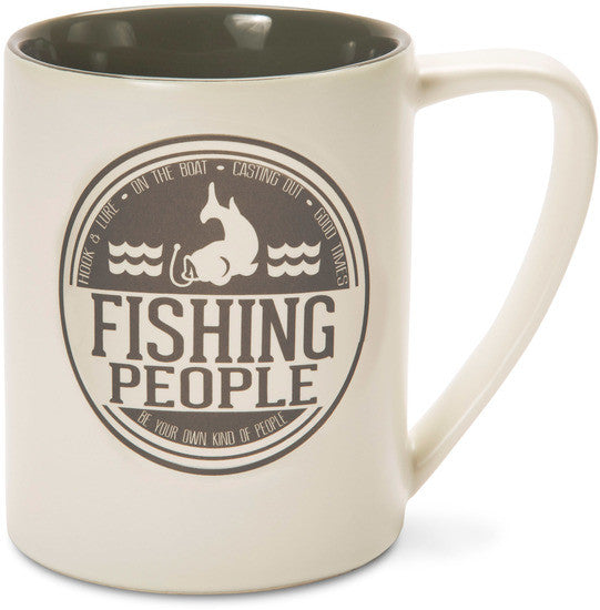 Fishing People Mug Coffee Tea Mug Mug - Beloved Gift Shop