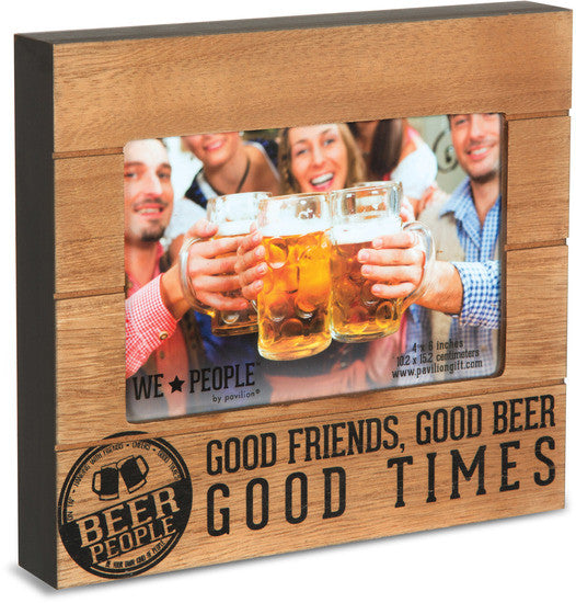 Good Friends, Good Beer Good Times Picture Photo Frame Picture Frame - Beloved Gift Shop