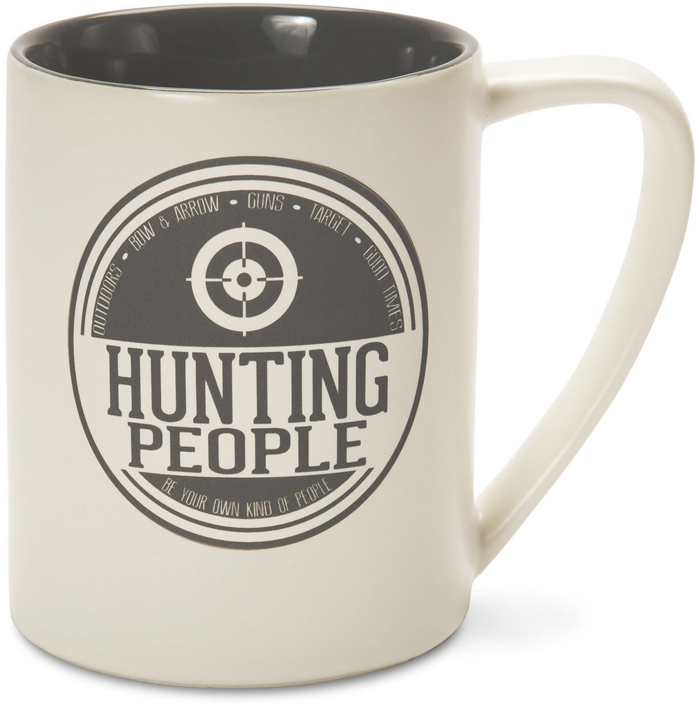 Hunting People Outdoors Bow & Arrow Guns Target Good Times Mug by We People - Beloved Gift Shop