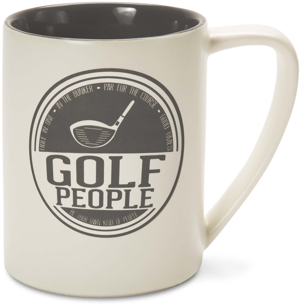 Golf People Hole in One In the Bunker Par for the Course Good Times Coffee Tea Beverage Mug Mug - Beloved Gift Shop