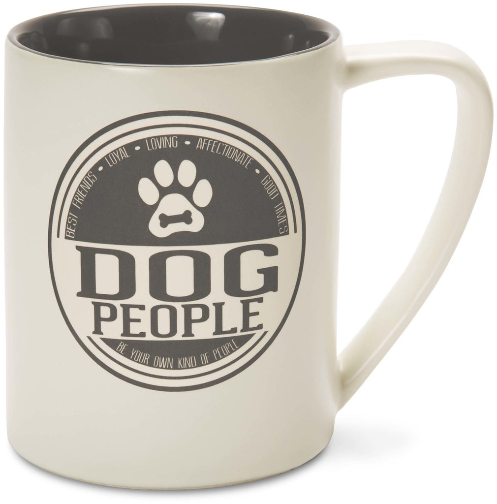 Dog People Best Friends - Loyal Loving Affectionate Good Times Mug by We People - Beloved Gift Shop