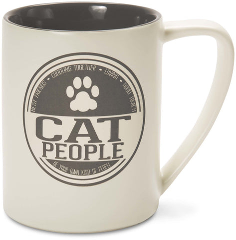 Cat People Best Friends Cuddling Together Loving Good Times Mug by We People - Beloved Gift Shop