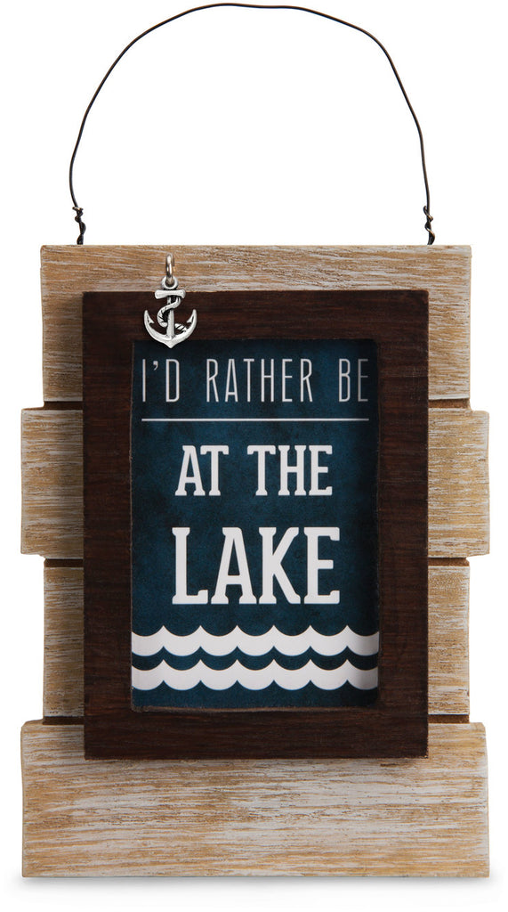 Lake People Self Standing Plaque Plaque - Beloved Gift Shop