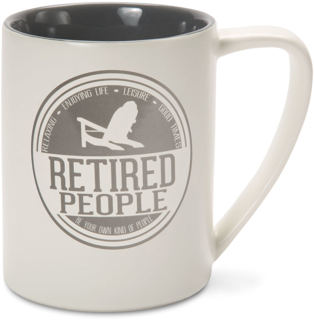Retired People Mug by We People - Beloved Gift Shop