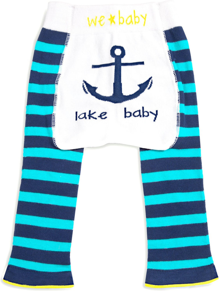 Blue and Aqua Lake Baby Leggings Baby Leggings We Baby - GigglesGear.com