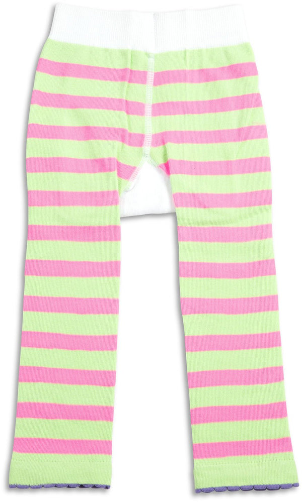 Pink & Green Camping Baby Leggings Baby Leggings We Baby - GigglesGear.com