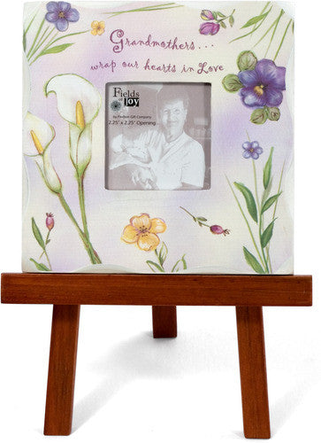Grandmother Wooden Frame w/Easel by Fields of Joy - Beloved Gift Shop