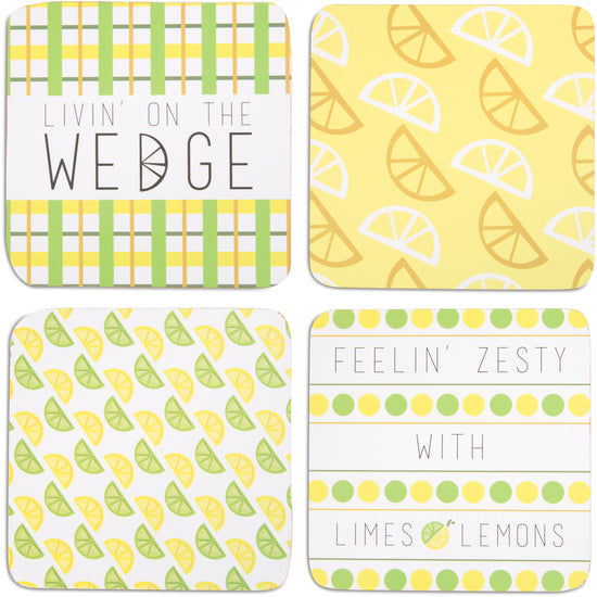 Zesty (4 Piece) Coaster Set with Box