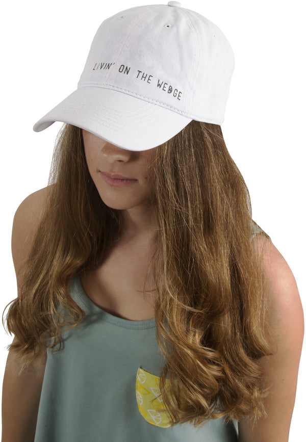 Livin' on the Wedge Unisex Baseball Hat Baseball Hats - Beloved Gift Shop