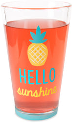 Hello sunshine Pint Glass Tumbler