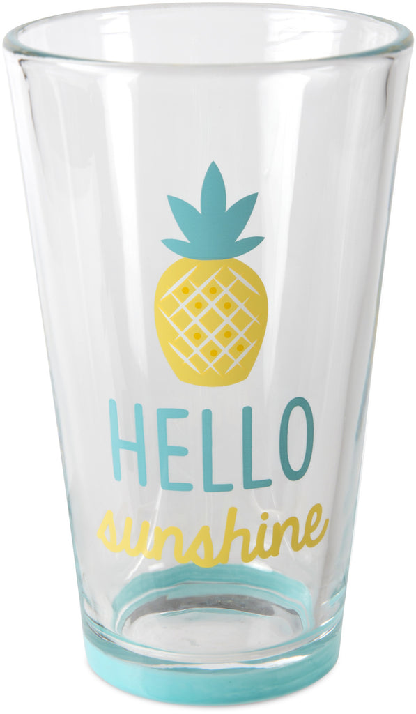 Hello sunshine Pint Glass Tumbler Pint Glass Tumbler - Beloved Gift Shop