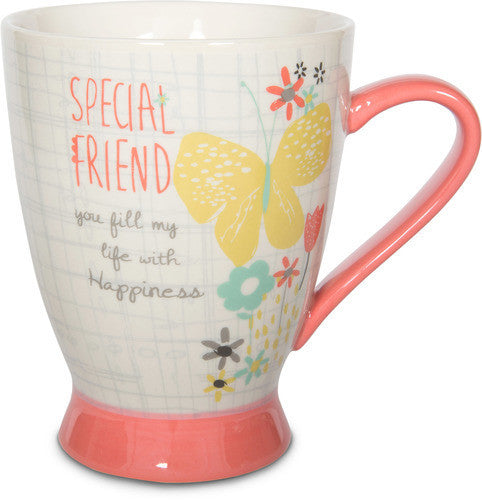Special Friend you fill my life with Happiness Mug Mug - Beloved Gift Shop