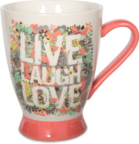 Live, Laugh Love Coffee Tea Beverage Mug Mug - Beloved Gift Shop