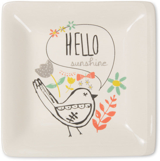 Hello sunshine Ceramic Keepsake Dish