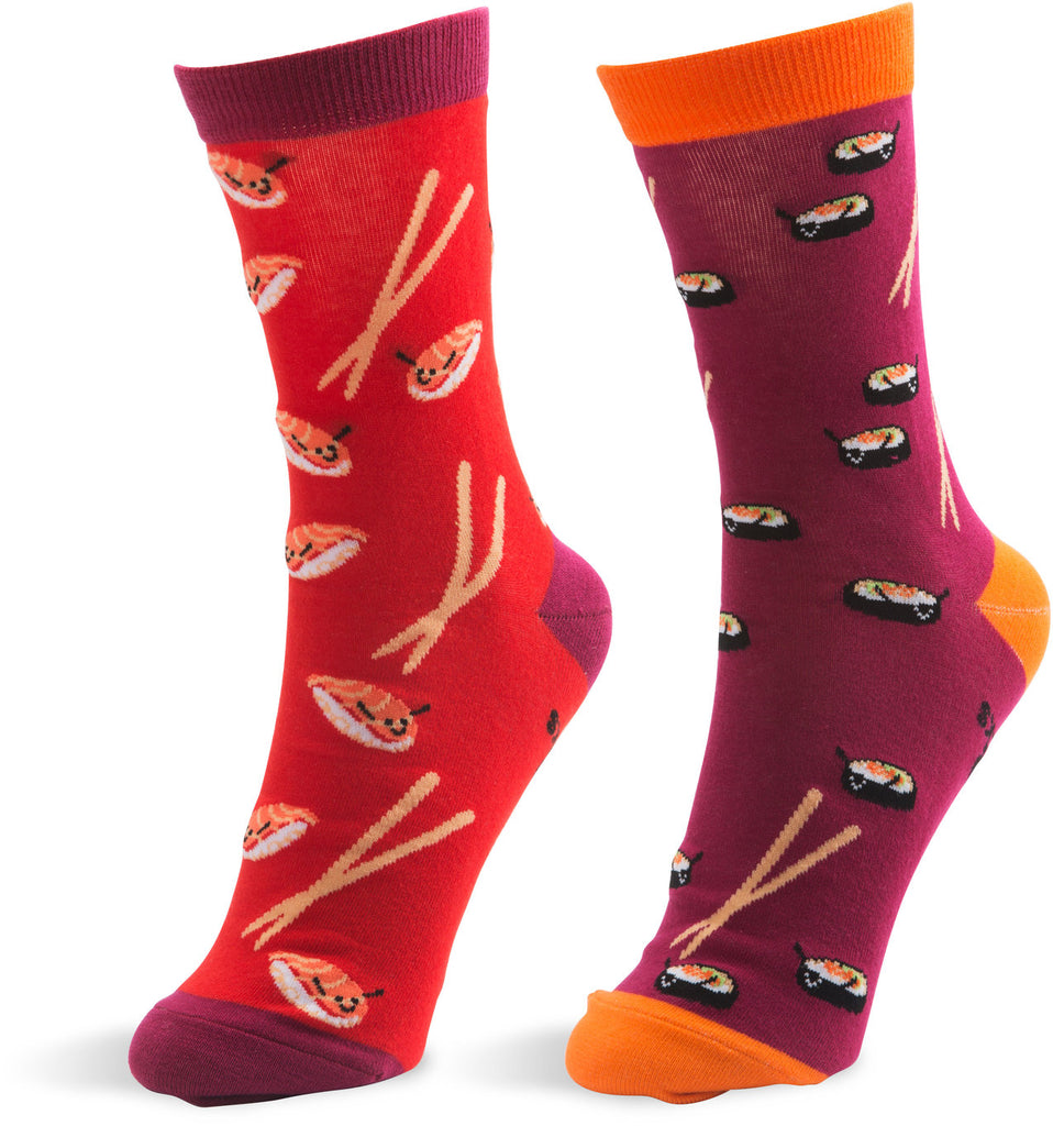 Sushi - Unisex Socks by Late Night Snacks - Beloved Gift Shop