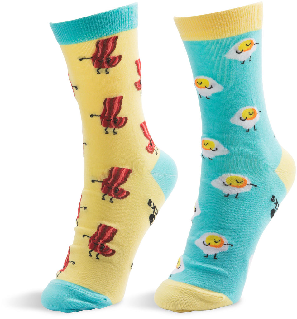 Bacon and Eggs Unisex Socks Socks - Beloved Gift Shop