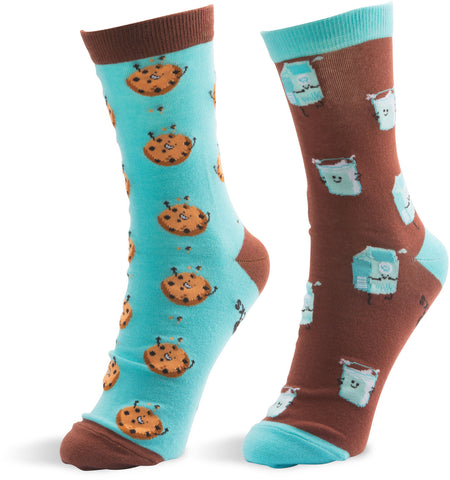Milk and Cookies - Unisex Socks by Late Night Snacks - Beloved Gift Shop