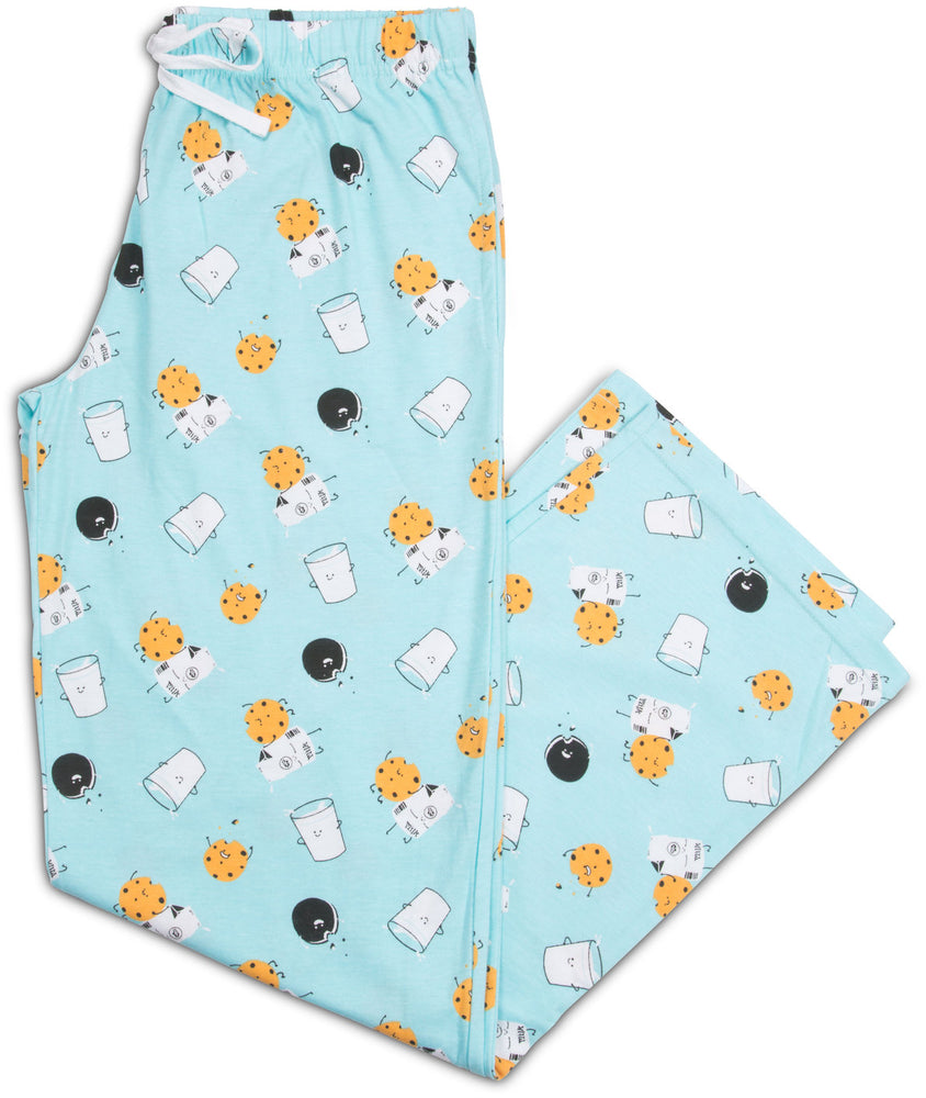 Cookies and Milk Light Blue Unisex Lounge Pants