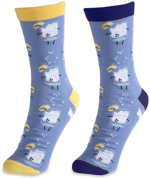 Vodka & Soda Unisex Casual Dress Socks Socks - Beloved Gift Shop