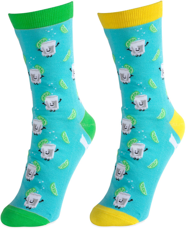 Gin & Tonic Unisex Casual Dress Socks Socks - Beloved Gift Shop