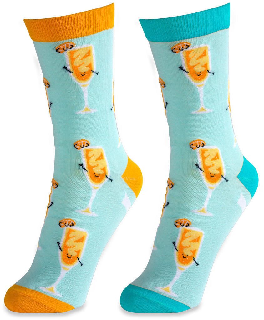 Mimosa Unisex Casual Dress Socks Socks - Beloved Gift Shop