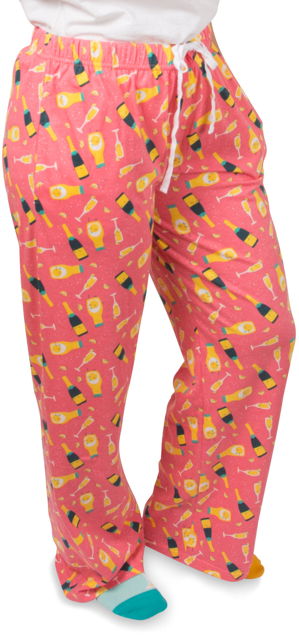 Mimosa Unisex Lounge Pajama Pants Lounge Pants - Beloved Gift Shop
