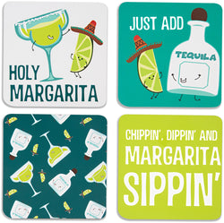 Margarita Beverage Drink Coasters (Set of 4)