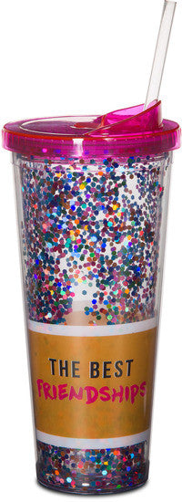 The Best Friendships Are built on inappropriateness & Sarcasm Beverage Tumbler