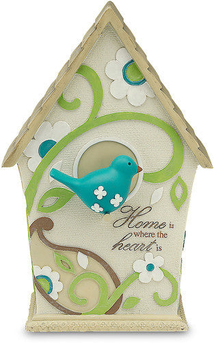 Home Hanging Decorative Birdhouse Plaque by Perfectly Paisley - Beloved Gift Shop