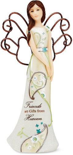 Friends are Gifts from Heaven Angel Figurine Figurine - Beloved Gift Shop